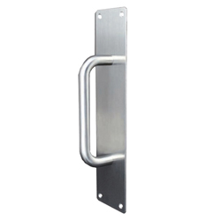 150mm D Pull Handle with Plate